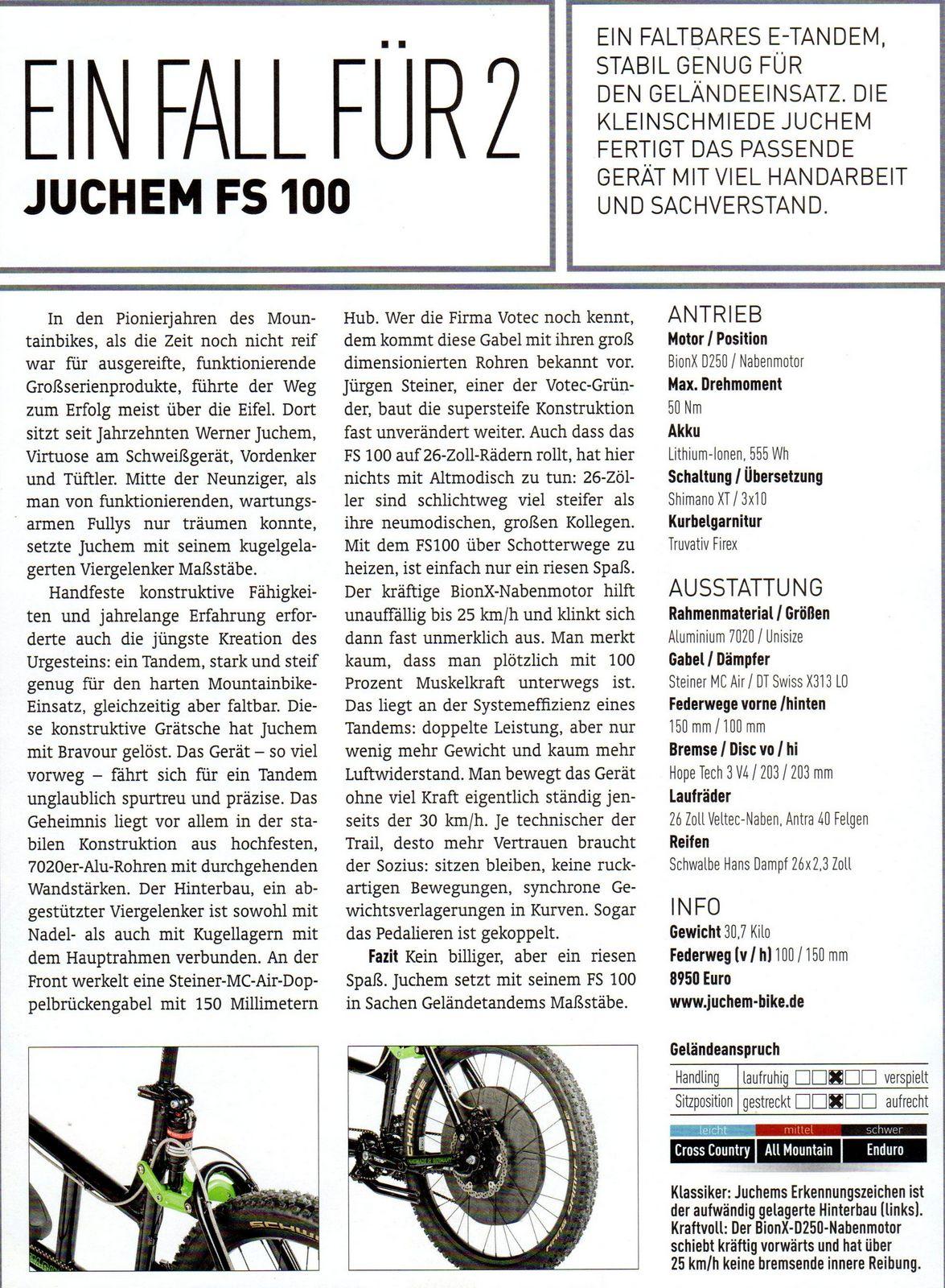 Juchem Custom Made Bikes